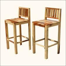 lowback teak bar stools rustic low back wood counter decofurnish wood bar stools with backs b98 backs