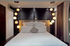 master bedroom lighting design ideas decor. Bedrooms:Master Bedroom Decor With Modern Ceiling Lamps And Table  Near White Bed Master Bedroom Lighting Design Ideas Decor