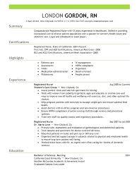 Nursing Resume Templates Free Fascinating Student Nurse Resume Template Mysticskingdom