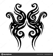 Tetování Tribal Design Abstraktní Tisku Keltský Vzor Ornament Skica