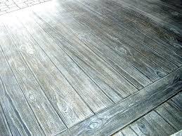 wood stamped concrete porch grain faux finish on patio36 patio