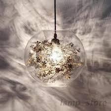 Modern glass lighting Suspension Image Is Loading Modernglassglobeflowerlightpendantlampchandelier Ebay Modern Glass Globe Flower Light Pendant Lamp Chandelier Lighting