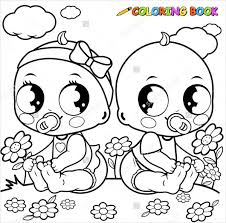 Small Picture 9 Baby Girl Coloring Pages JPG AI Illustrator Download Free