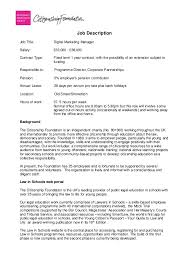 Bank Manager Job Description Digital Marketing Manager Job Description And Person