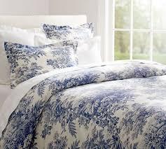 Matine Toile Duvet Cover & Sham - Twilight Blue   Pottery Barn & Matine Toile Duvet Cover & Sham - Twilight Blue Adamdwight.com