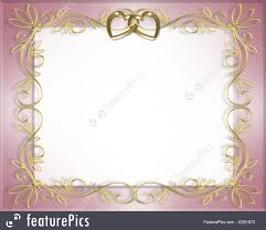 wedding invitation template 3d ilration for wedding frame valentine or invitation background with gold