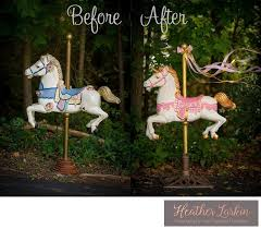 part two a full size carousel horse