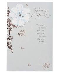 American Greetings Sympathy Card Caring Thoughts