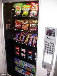 Masking Tape Vending Machine Beauteous UK Vending Machines Will Soon Serve Salads And Hot Burgers Daily