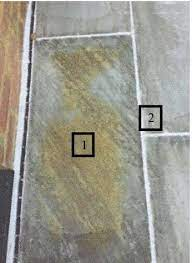 remove cement stains from natural stone