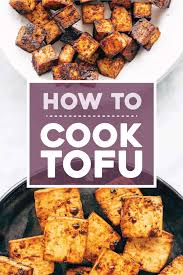 Count ¼ cup of blended tofu per egg in a recipe. How To Cook Tofu Pinch Of Yum