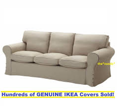 ikea rp 3 seat sofa 1x bottom cushion slipcover cover only risane natural