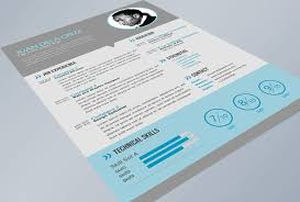 Free Flat And Modern Resume / Cv Psd Template [Freebies] - Thetotobox
