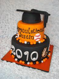 High School Graduation Cake This Cake Was For A Boy Graduating