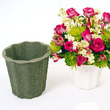 Flower Paper Mache Containers Vases Paper Mache Floral Supply Syndicate Floral