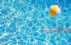 beach ball on beach. USA, Massachusetts, Nantucket, Beach Ball In Swimming Pool On