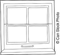 window clipart black and white.  Clipart In Window Clipart Black And White E