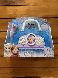 Frozen Light Up Boombox Disney Frozen Anna Elsa Cool Tunes Sing Along Boombox With Microphone
