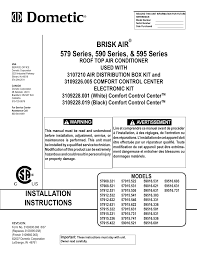 dometic brisk air 590 series user manual 12 pages also for dometic brisk air 590 series user manual 12 pages also for brisk air 595 series brisk air 579 series