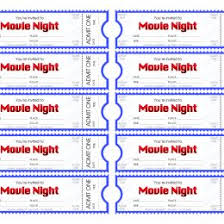 Free Movie Ticket Template Lovely Free Movie Ticket Template Luxury