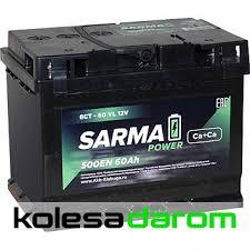 """Купить <b>аккумулятор легковой</b> """"<b>САРМА</b>"""" 6ст (60 Ач п/п) в Саранске ..."""