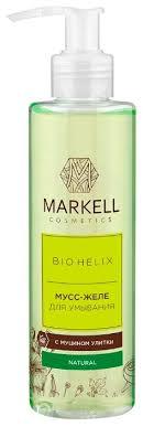Купить Markell мусс-<b>желе</b> для <b>умывания с</b> муцином улитки Bio ...