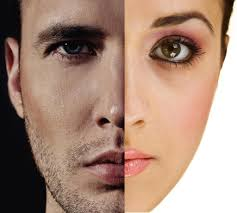 Woman facial hair problem