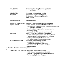 Objective For Teacher Resume Objective Teachingme Unusual Substitute Teacher Line For Lecturer 20