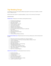 Songs For Wedding Ceremony Home Planning Ideas