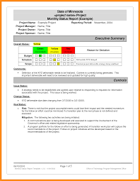 Project Daily Status Report Template Excel And 7 Monthly Status
