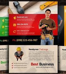 free handyman flyer template handyman template