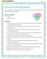 Math Venn Diagram Worksheet Venn Diagram Worksheets Math And With Diagrams Activities Math