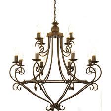 <b>Люстра подвесная LAMPLANDIA</b> 3206-12, 12 ламп цвет ...