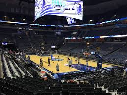 Fedex Forum Memphis Grizzlies Seating Chart Fedex Forum Section 108 Memphis Grizzlies Rateyourseats Com
