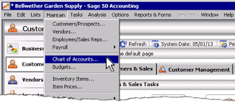 Pastel Chart Of Accounts Sage 50 Learning Chart Of Accounts