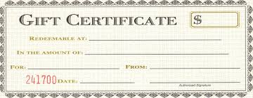 Make Your Own Gift Certificate Templates Free Make Your Own Gift Certificate Sample Certificate For Free Gift And