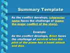 book report story summary