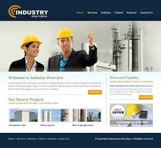 Construction Website Templates Simple Industry Website Template 28 Construction Engineering