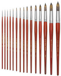 Art Paint Brush Size Chart Paintbrushes For Watercolors How To Buy The Right