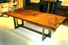 6 foot dining table 6 foot slab dining table natural wood collection furniture antique reion with