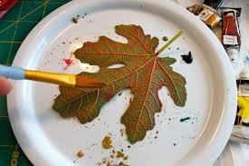 painting leaf