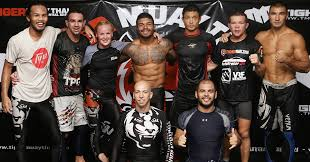 chri vamos and a few of the team fighters after a afternoon no gi cl