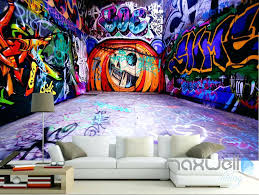 wall decals graffiti graffiti pumpkin jack wall mural paper art print  graffiti pumpkin jack wall mural . wall decals graffiti personalised ...