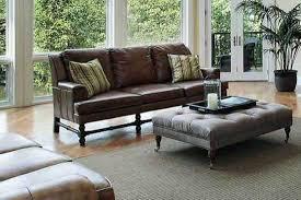 17 dark brown leather sofa decorating