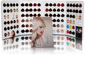 Envie Hair Colour Chart