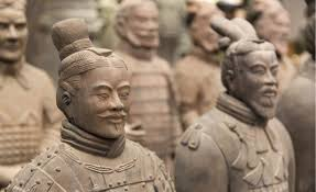 chinese terracotta warriors were likely replicas of real solrs