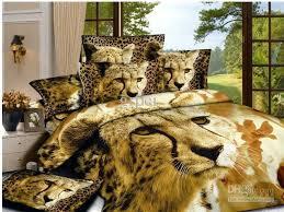 brown lion bedding comforter set queen size comforters sets bedspread bed linen sheet duvet cover quilt bedclothes bedsheet animal cotton home texiles