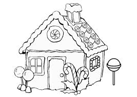 Small Picture Gingerbread Houses Coloring Pages aecostnet aecostnet