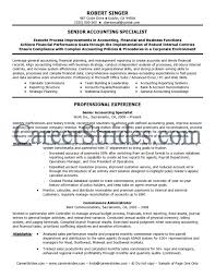 Junior Accounts Manager Resume Junior Accountant Resume Example For High Accounting Manager Level 10