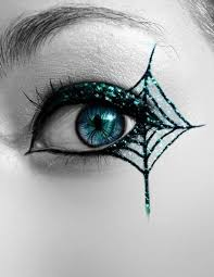 the best witch make up ideas spider web eye accent